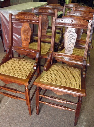 Recaned Chairs