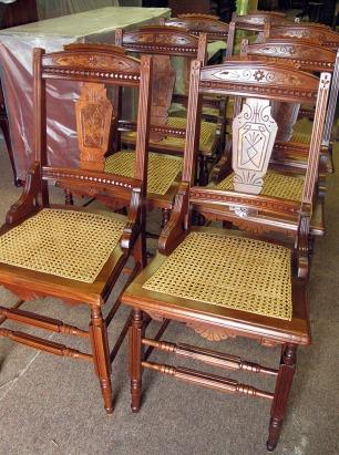 Recaned Chairs